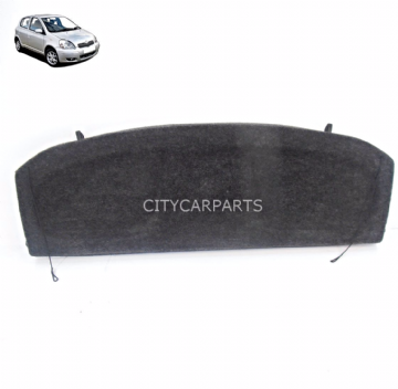 GENUINE TOYOTA YARIS MK1 MODELS FROM 1999 TO 2005 PARCEL SHELF LOAD COVER